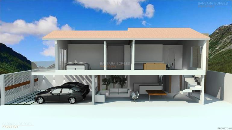 quarto planejado de casal Casa Projeto
