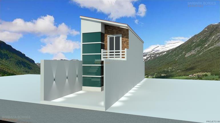 Casa Terrea 10 metros frente