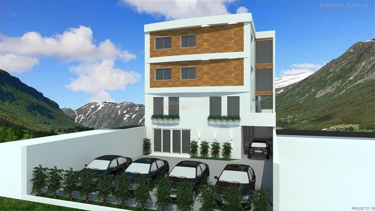 projetos de pousadas Casa Varanda 3 Quartos