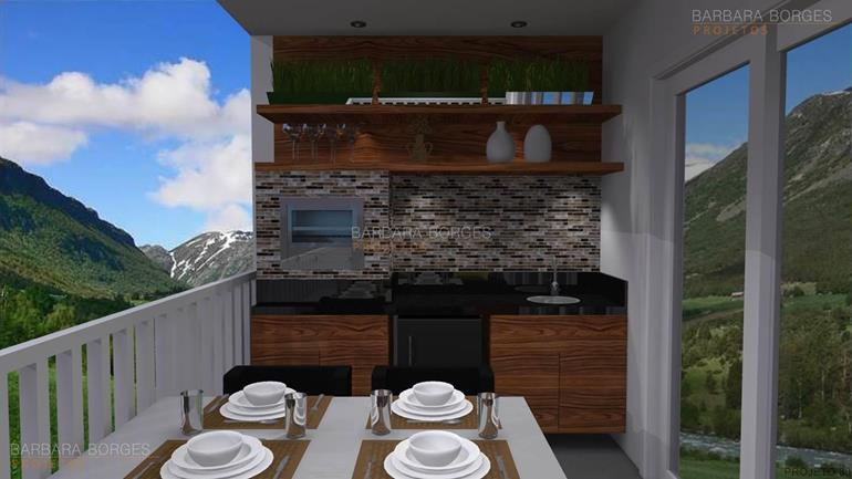 prateleiras de vidro para banheiro Casa churrasqueira 3