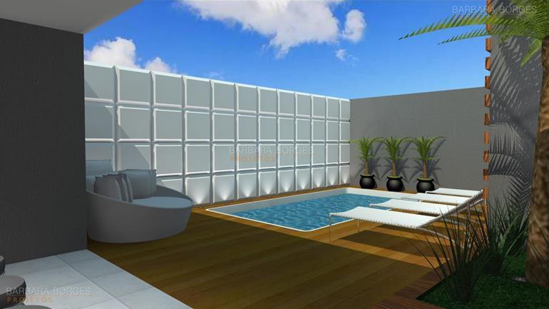 projeto casa 3 quartos Casa churrasqueira 3