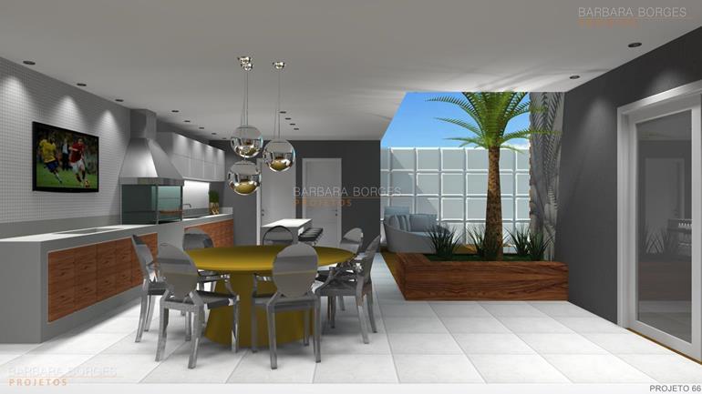 projeto banheiro Casa churrasqueira