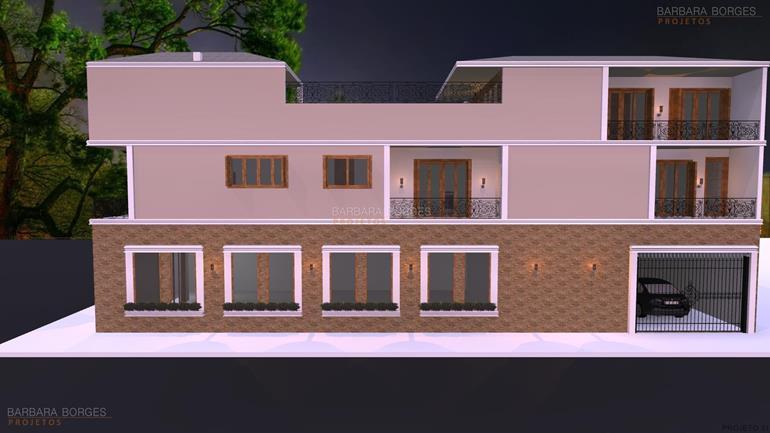 reforma casas Casas 1 Quarto Varanda Praia