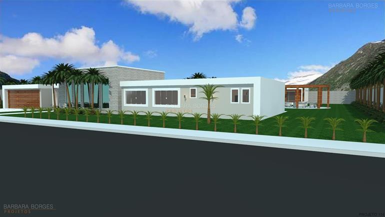 casas geminadas projetos Casas 1 Quarto Varanda Praia