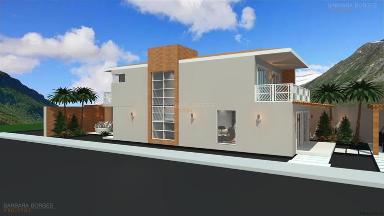 projetos de pousadas Casas 101 150 m2