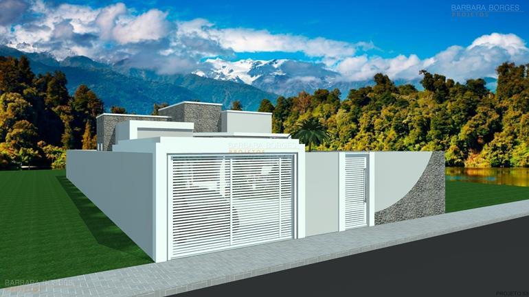 projeto de padaria Casas 2 quartos Varanda