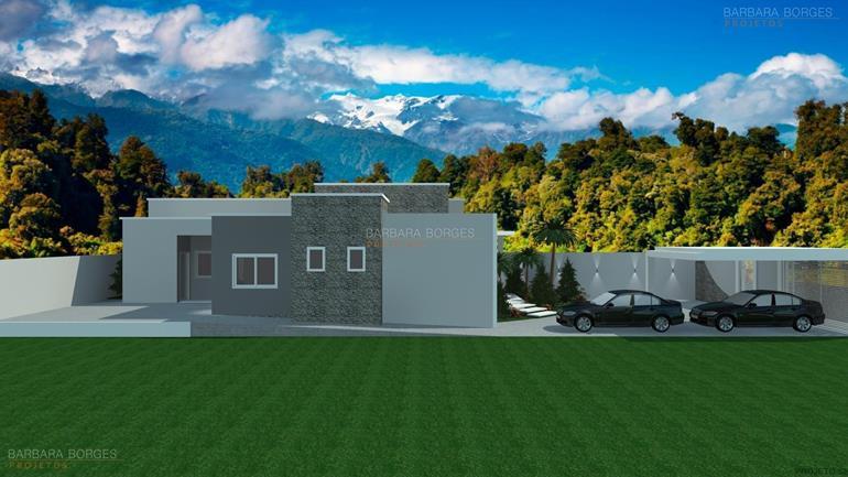 projetos de restaurantes Casas 2 quartos futura ampliacao