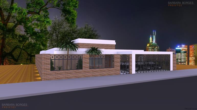 projeto casas populares Casas 3 quartos 1 suite