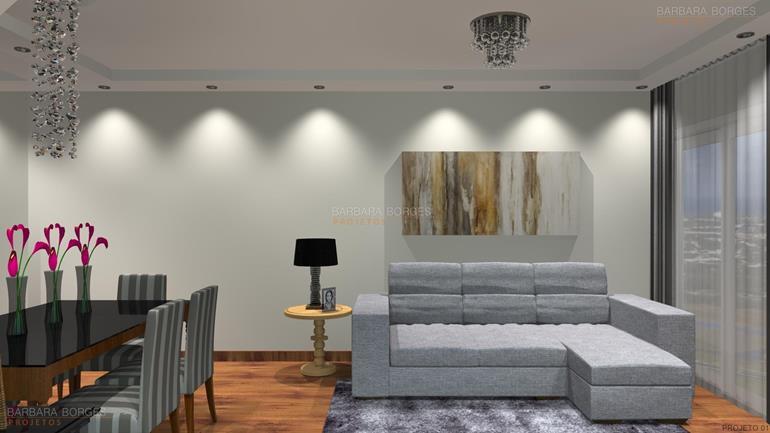 dormitorio planejado Decoração salas Poltronas