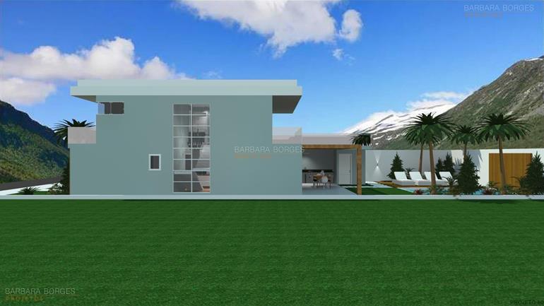moveis planejados ponta grossa Fachadas Casas Modernas