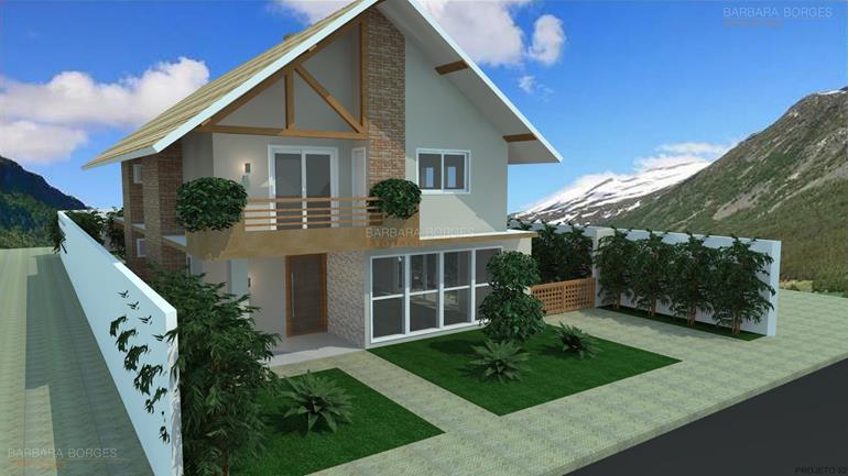 Fachadas casas modernas barbara borges projetos for Fachadas frontales de casas modernas