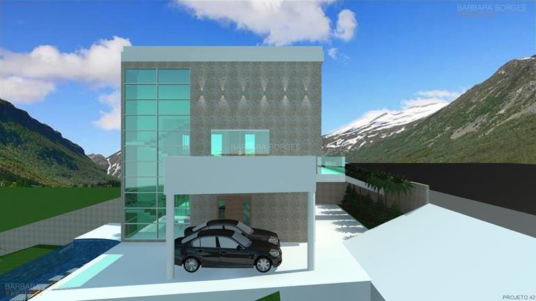 moveis sobre medida Fachadas Casas Modernas