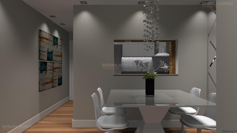 sala de visita decorada Iluminada Elegante