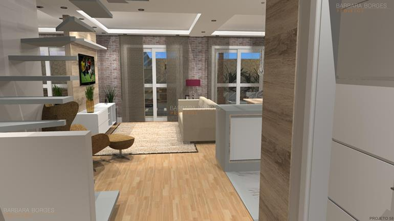 revestimentos de banheiro Iluminada Elegante Opcao 2