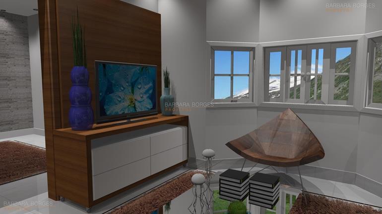 sala de jantar apartamento pequeno Iluminada Elegante Opcao 2