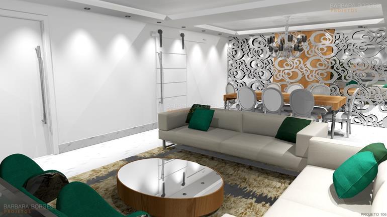 site de decoração de interiores Into decor projetos 3D
