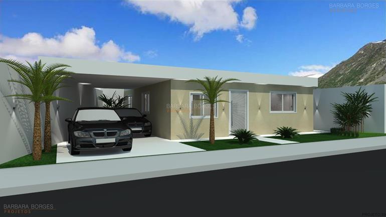 Modelo Casa Terrea 3 Quartos