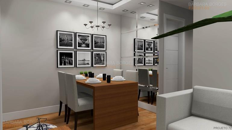 decoração para salas Modelos Ideias decorações modernas