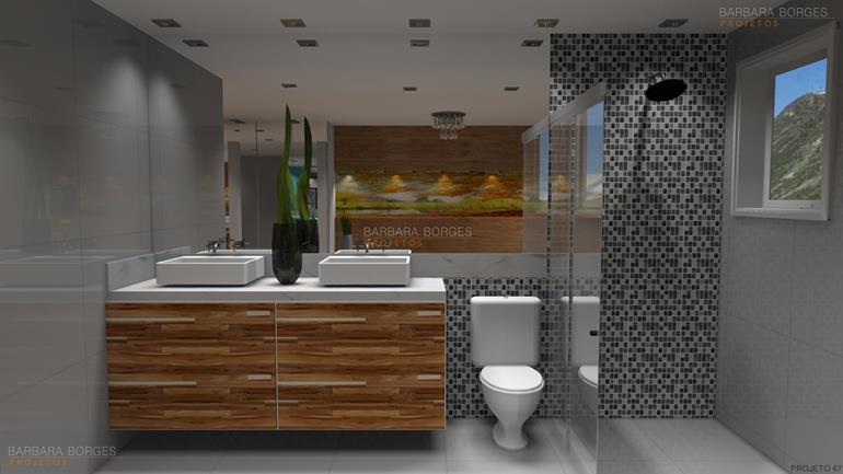 cursos design de interiores Modelos decoração banheiro