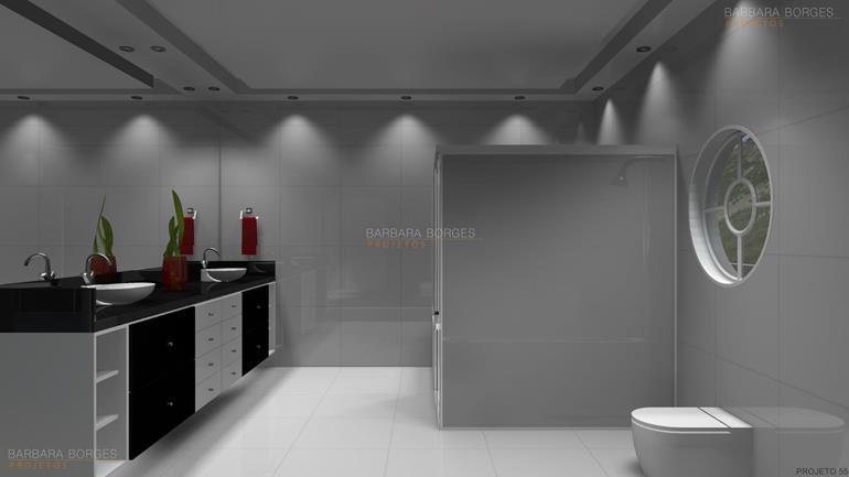 decoração de ambiente Modelos decoração banheiro