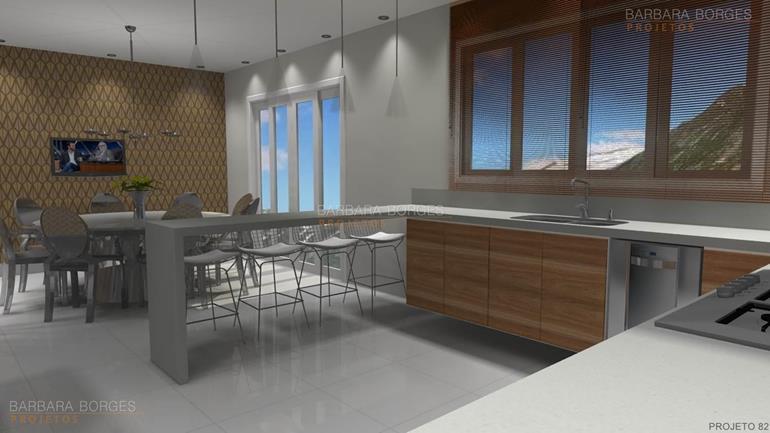Modelos mesas cozinha varanda