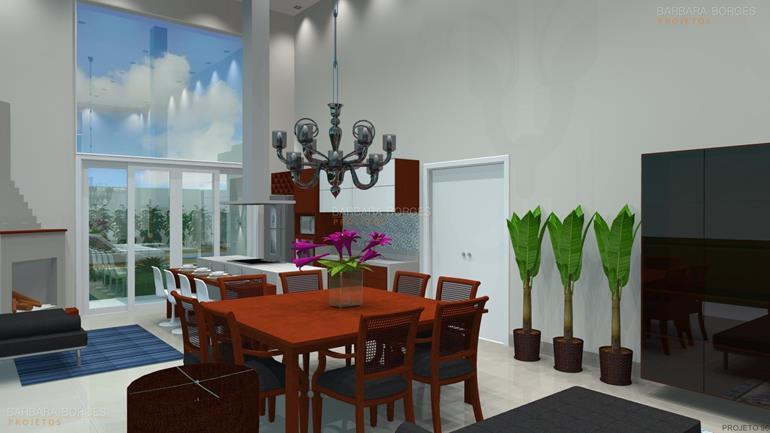 decoração varandas Modelos mesas cozinha varanda