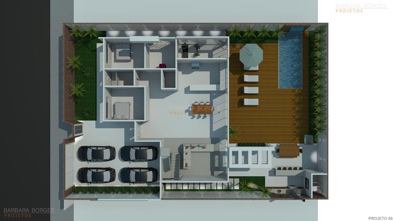 moveis sob medida florianopolis Planta Baixa Casas