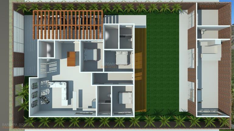 Planta Casas 2 quartos