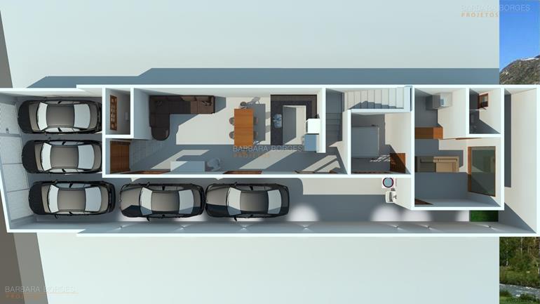 armario planejado de cozinha Plantas Casa