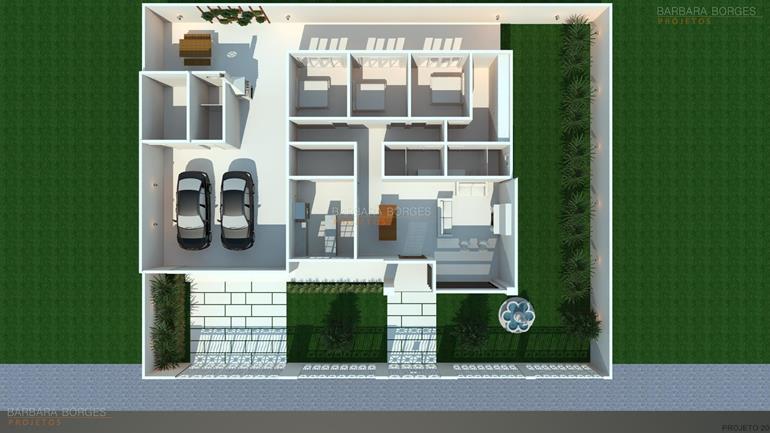 armarios de cozinha de aço Plantas Casa Construir