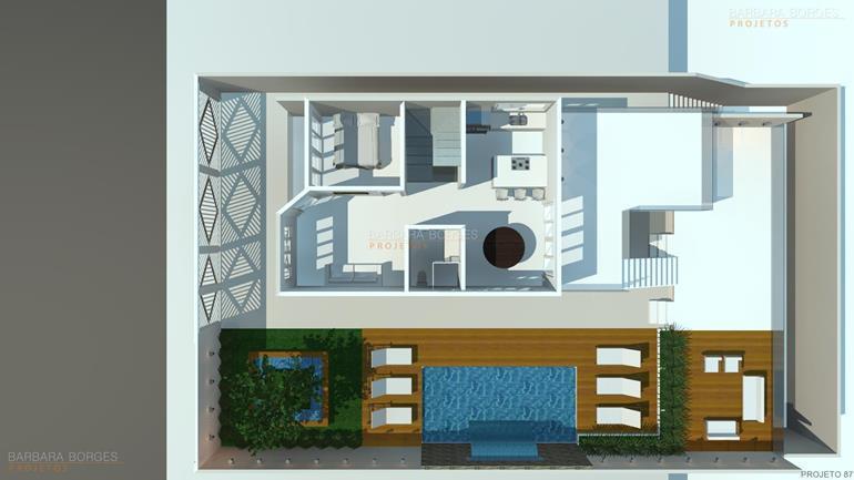 arquitetos são paulo Plantas Casa Construir