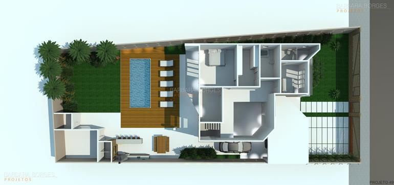 armário para quarto Plantas Casa Modelos Sobrados