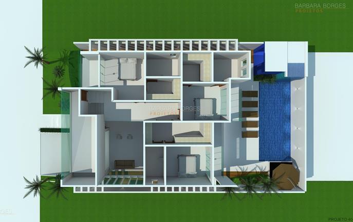 armarios de banheiro planejados Plantas Casa Modelos Sobrados