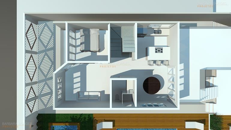 arquitetura 3d Plantas Casa Modelos Sobrados