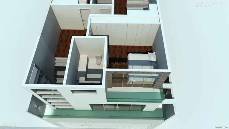 banco de madeira para varanda Plantas Casa Modelos Sobrados
