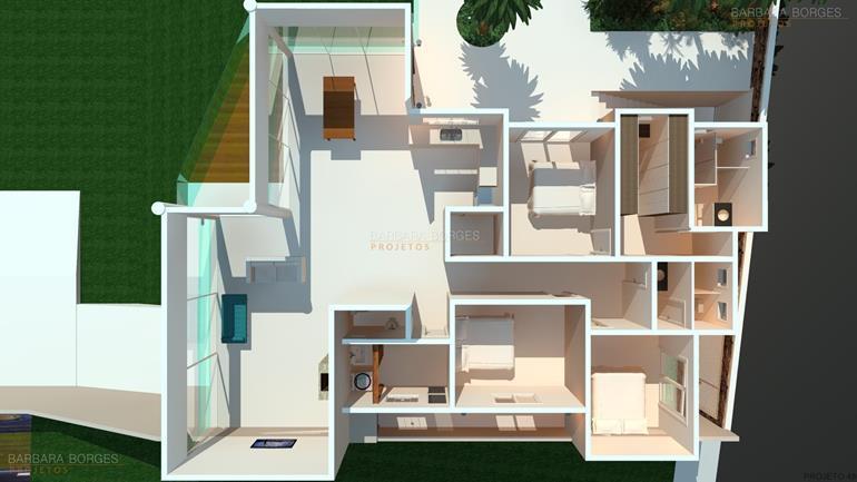 arquitetos são paulo Plantas Projetos