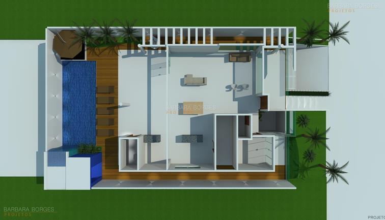 armarios de parede para cozinha Plantas casas 3 quartos
