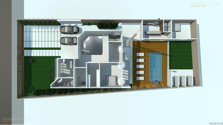 armarios de cozinha de aço Plantas casas modernas