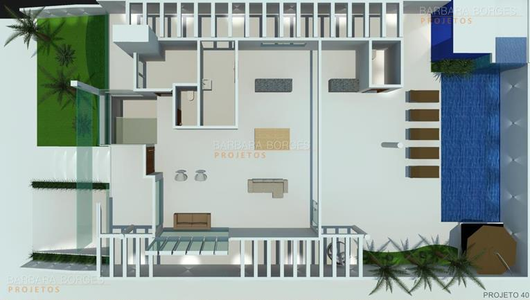 armarios planejados goiania Plantas casas modernas
