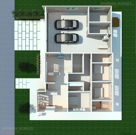 arquitetos são paulo Plantas casas modernas