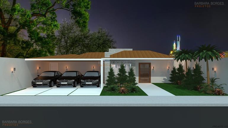 decoração de casa de campo Projeto 5 metros