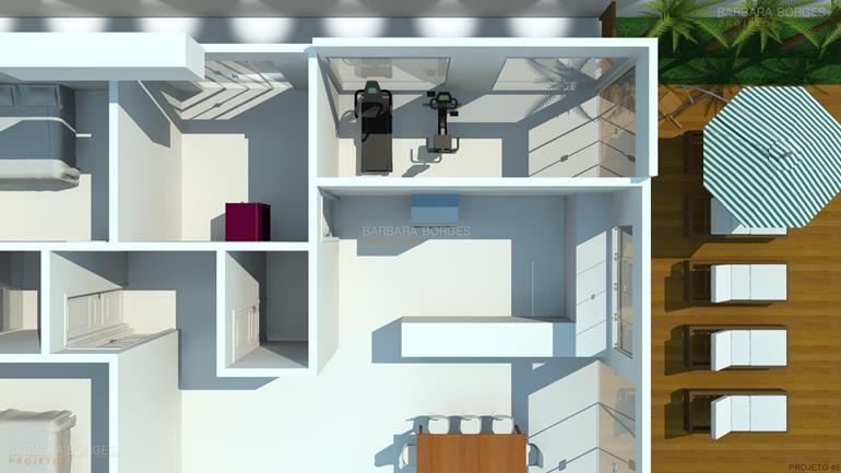 cozinhas pequenas sob medida Projeto Casa Popular Economica