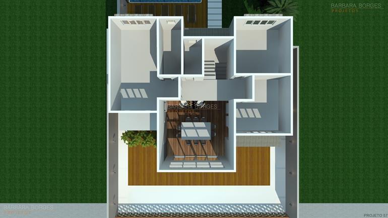 decoração de quartos de casal pequeno Projeto Casa Popular Economica