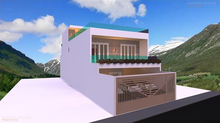 decoração de casa de campo Projeto Casas Modernas