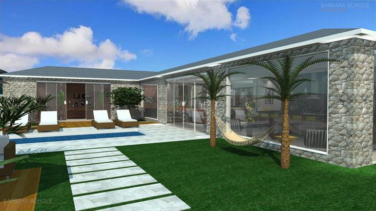Projeto ediculas barbara borges projetos - Construir casa de campo ...