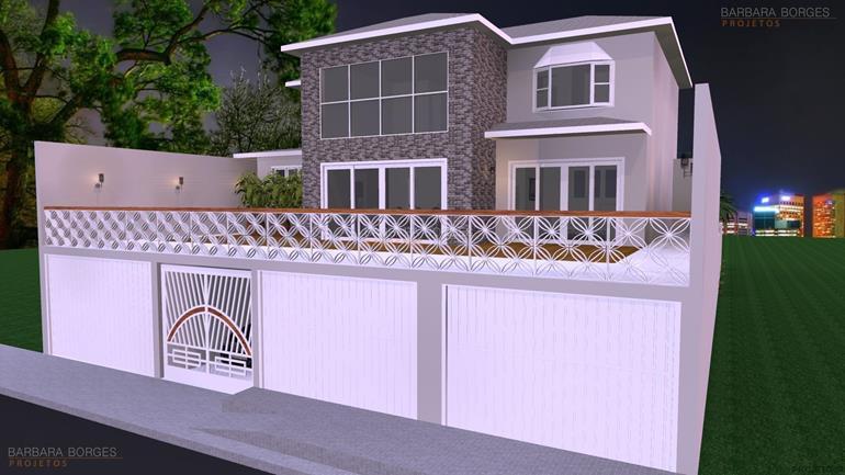 decoração varanda apartamento Projeto Sobrados