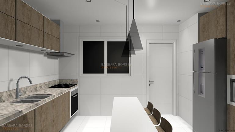 decorar sala de jantar Projetos 3D armario