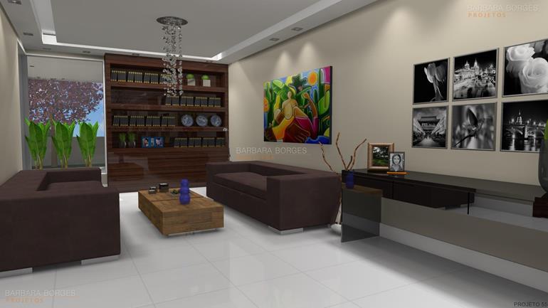 designer de ambientes Projetos 3D estantes