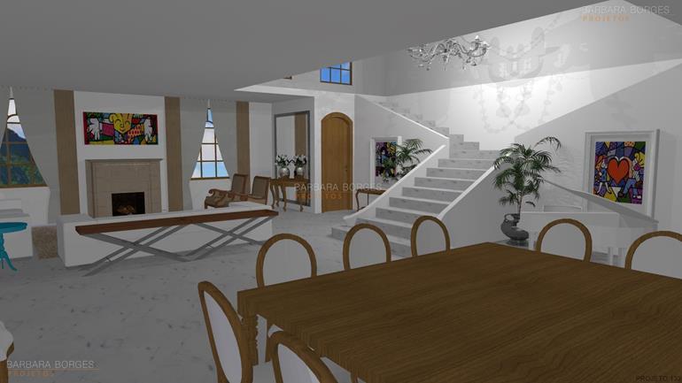 escritórios de arquitetura em sp Projetos 3D móveis decoração interiores