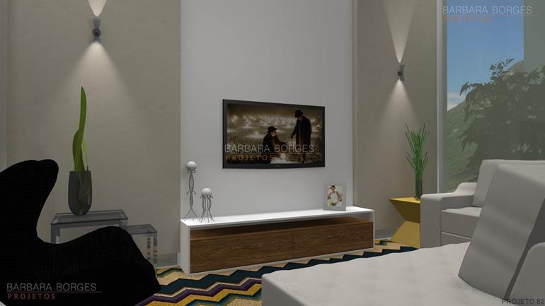 Projetos 3D móveis decoração interiores